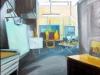Atelier (Ölskizze) (verkauft)