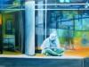 Reflexion 17 ( Blauer Reiter)